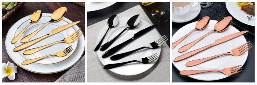 E-far kitchen utensil sets