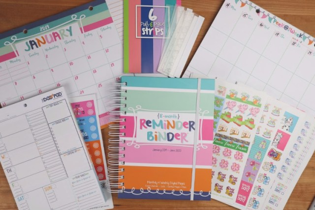 FREE binder giveaway contest by Denise Albright