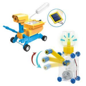 GEO Salt Water/Solar Powered Robot & the Dynamo Lantern image