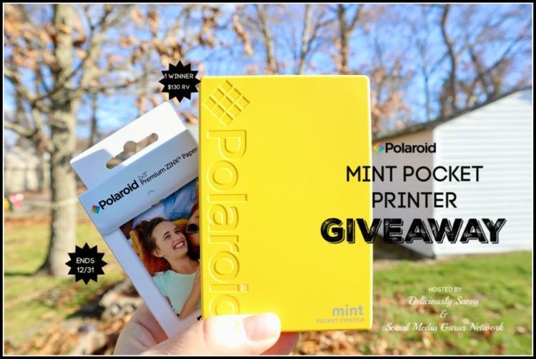 Polaroid Mint Pocket Printer Giveaway