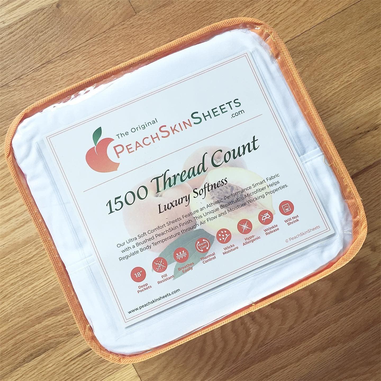 Original PeachSkinSheets.com Giveaway