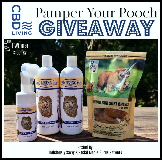 Pamper Your Pooch Giveaway