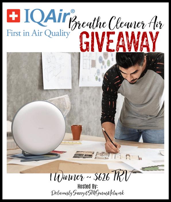 IQAir Breathe Cleaner Air
