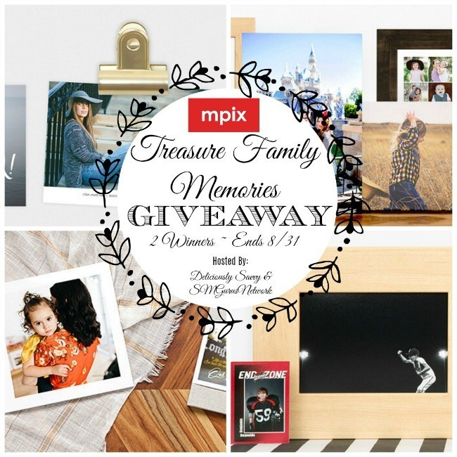 Mpix Treasure Family Memories Giveaway ~ Ends 8/31 @Mpix @deliciouslysavv #MySillyLittleGang