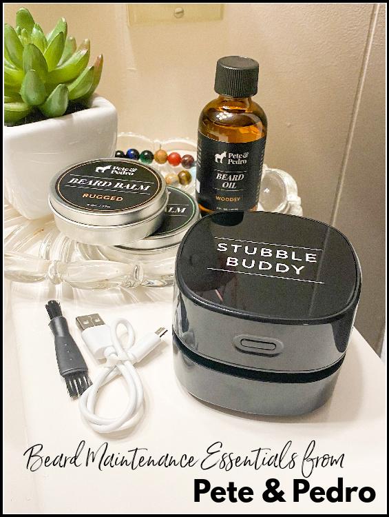 Pete & Pedro Beard Maintenance Essentials Giveaway ~ Ends 10/24 #MySillyLittleGang