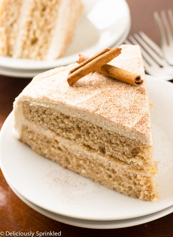 Cinnamon Sugar Cake Recipe | Deliciously Sprinkled