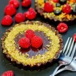 No Bake Chocolate Tarts