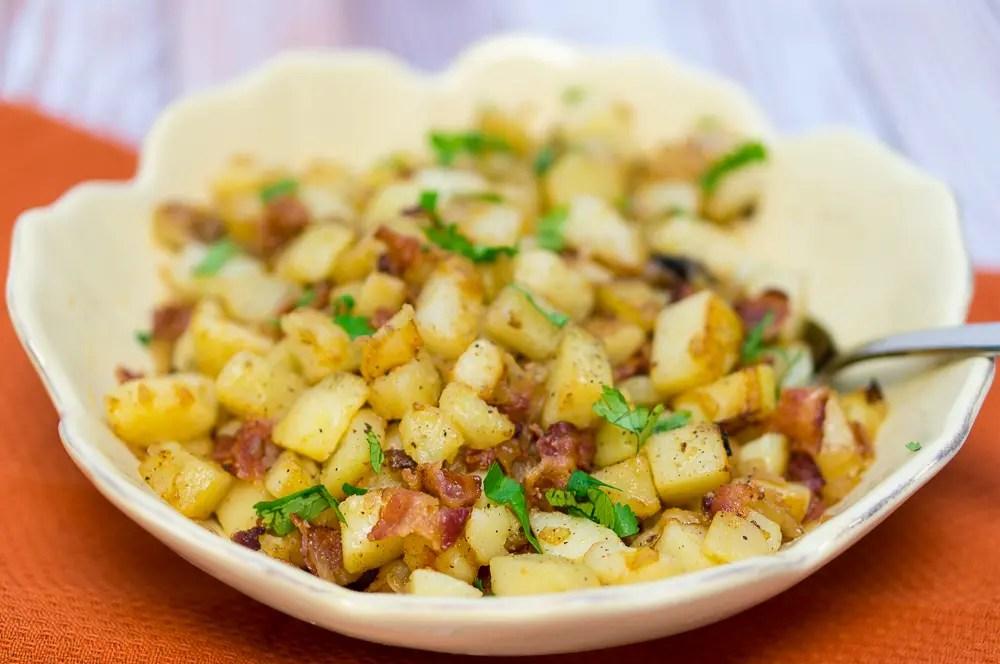 Pan Fried Potatoes (Bratkartoffeln)