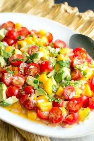 Mango Avocado Salsa Recipe Delicious Meets Healthy