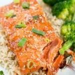 Honey Sriracha Salmon - meal prep recipe