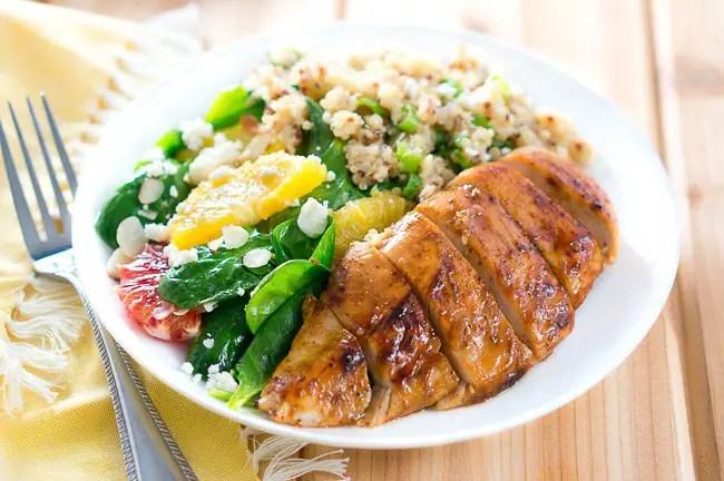Balsamic-Glazed Chicken Salad