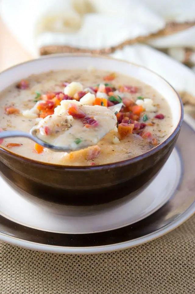 Healthy Cauliflower Soup Recipe