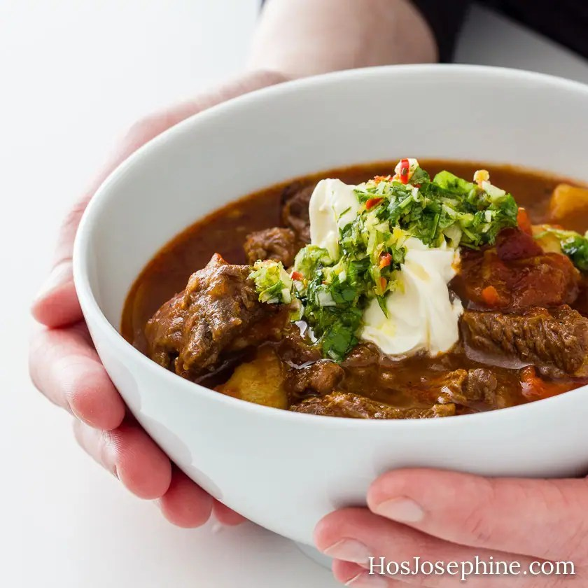 Goulash Soup with Gremolata
