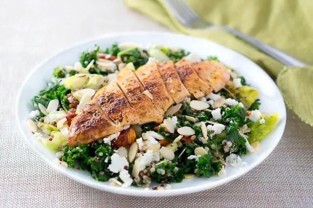 Greek Quinoa Salad with Chicken