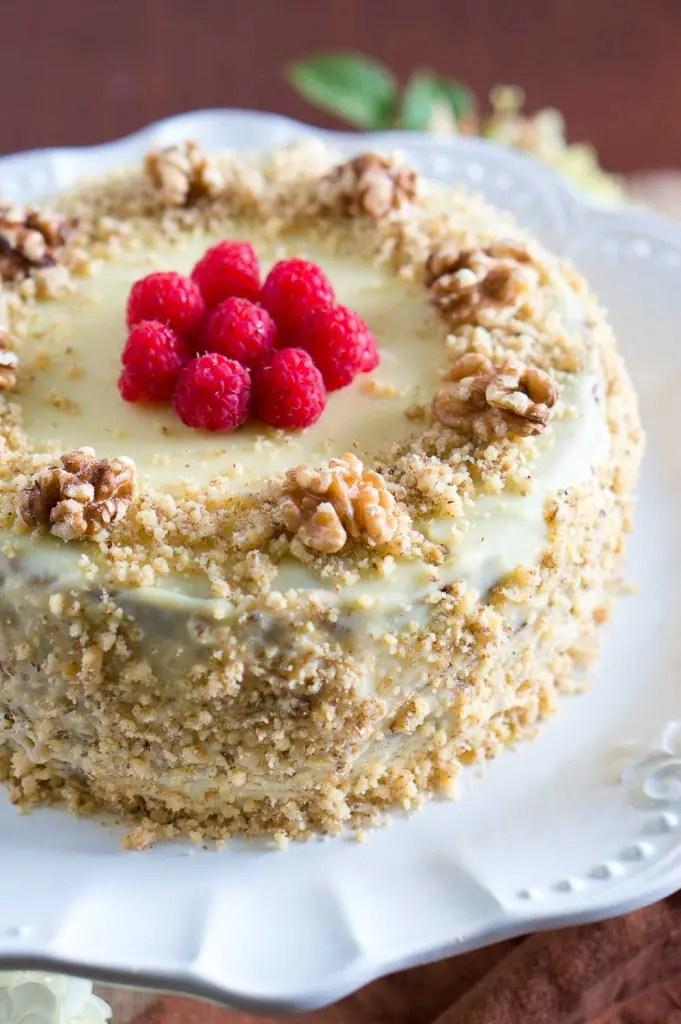 Flourless Walnut Chocolate Cake