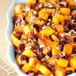 Roasted Butternut Squash w Bacon