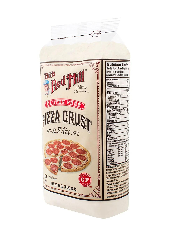 Gluten-Free Pizza Crust Mix