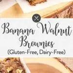 Banana Walnut Brownies