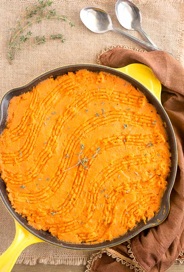Paleo Cottage Pie with Sweet Potatoes