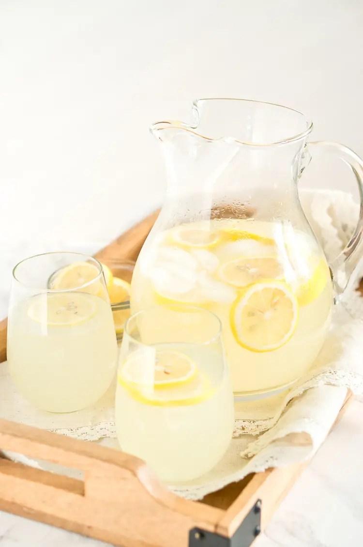 recipe for homemade lemonade