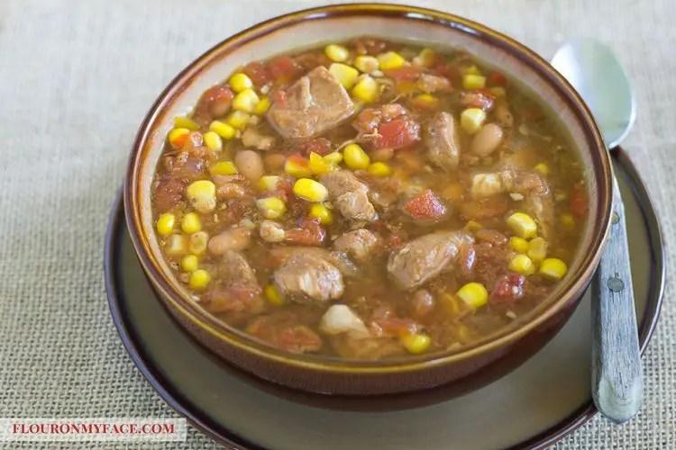 Healthy Freezer Meals - pork stew