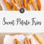 sweet potato fries with paprika aioli sauce