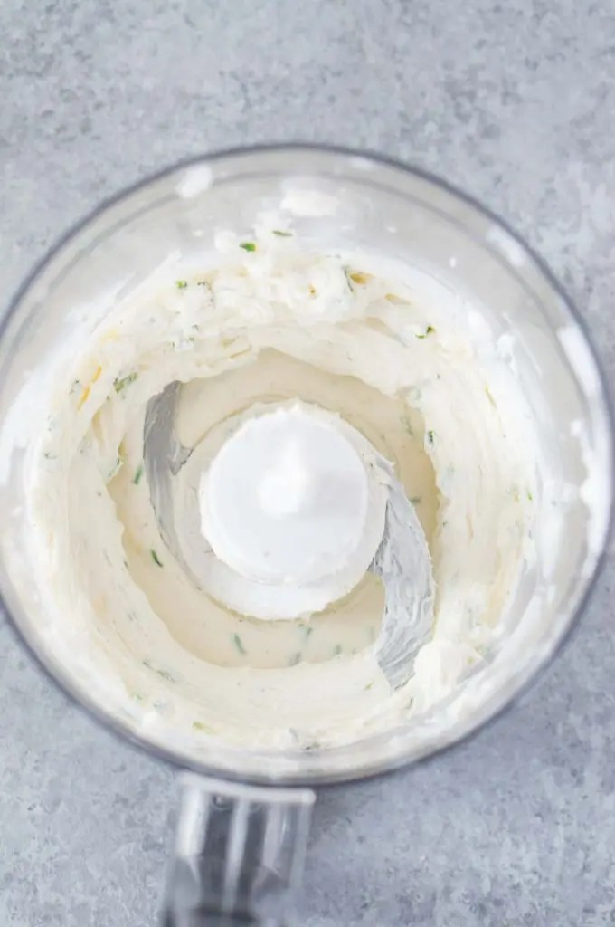 cream cheese mixture for appetizer