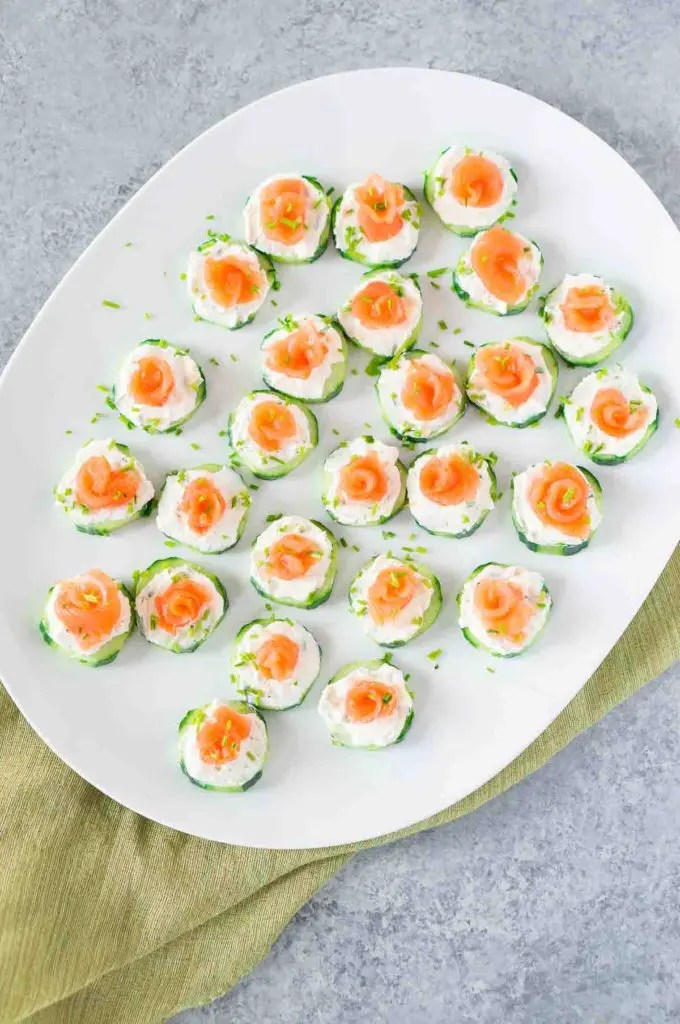 easy appetizer - smoked salmon appetizer