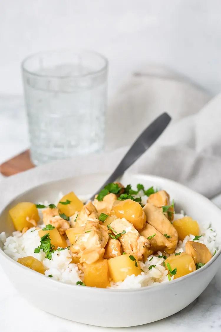 instant pot hawaiian chicken recipe
