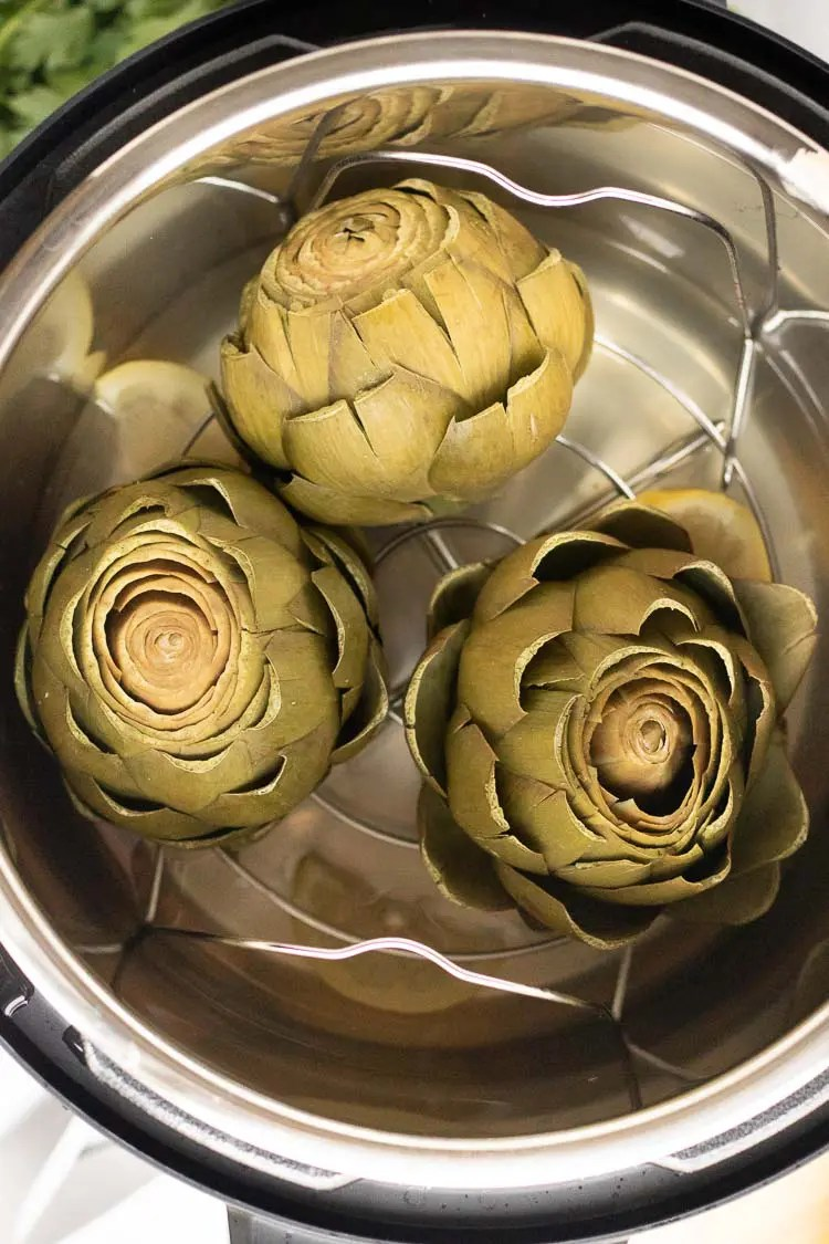 artichokes in the instant pot