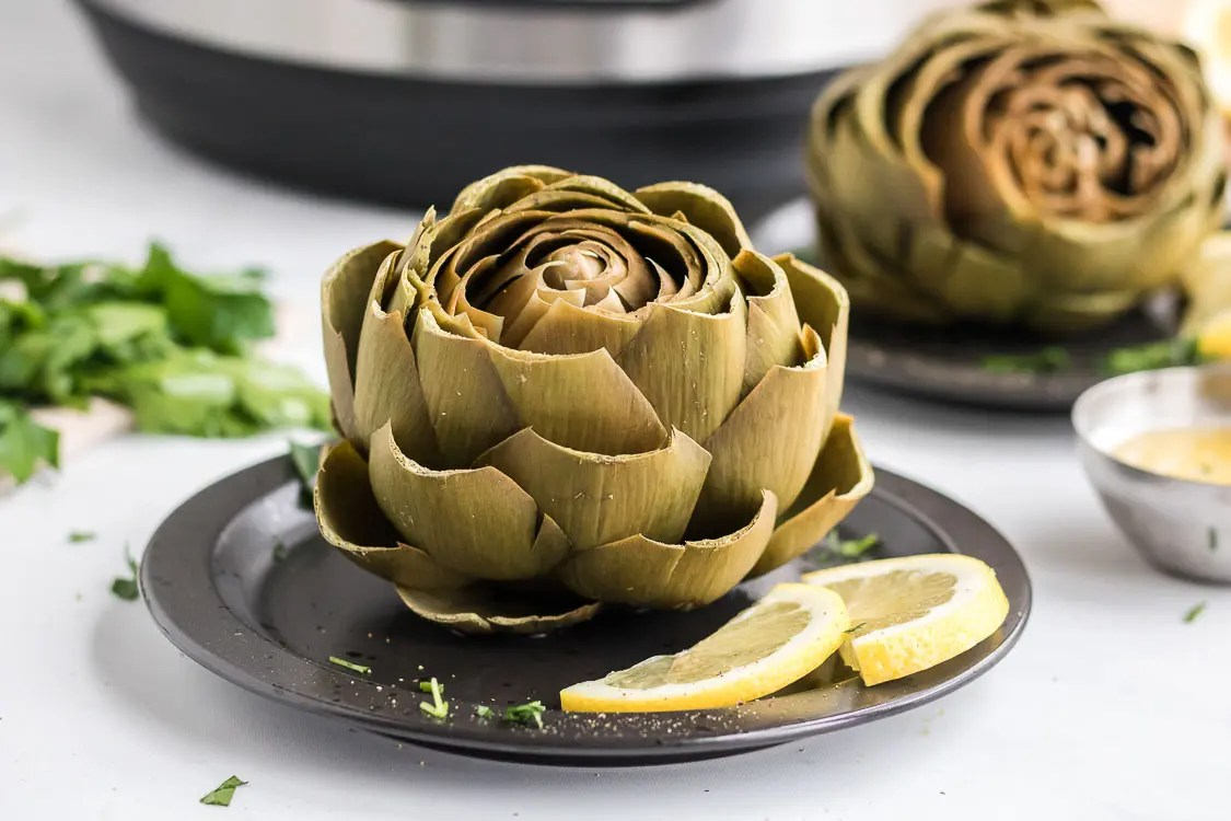 how long to cook an artichoke in an instant pot