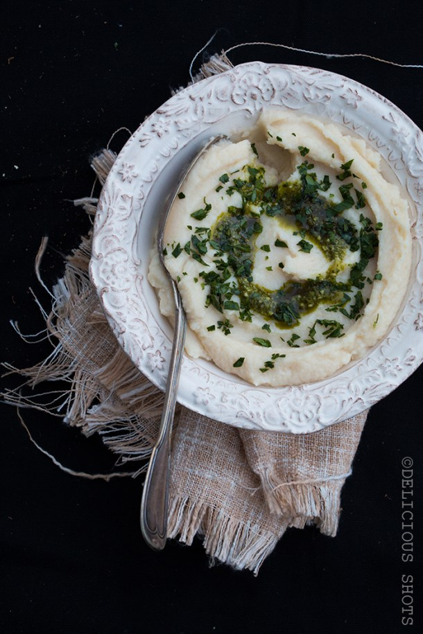 Celery Root And Cauliflower Purée