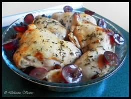 Winny kurczak przed dopieczeniem