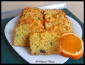 Pomarańczowy keks