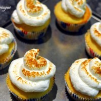 Isabella's Lemon Meringue Cupcakes from Junior MasterChef