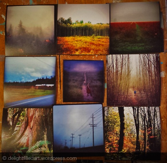 square photographs printed