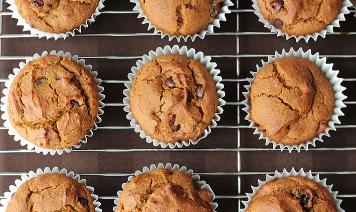 These vegan gluten free pumpkin spice muffins are so easy to make and so delicious, you'll want to make them year-round—not just during the fall.