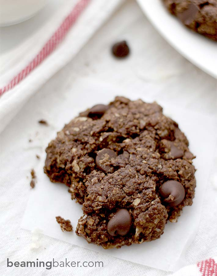 beaming-baker-Double-Chocolate-Chip-Coconut-Cookies