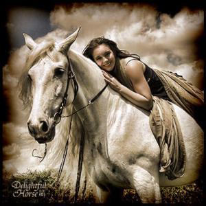 A good horse makes a great friend.