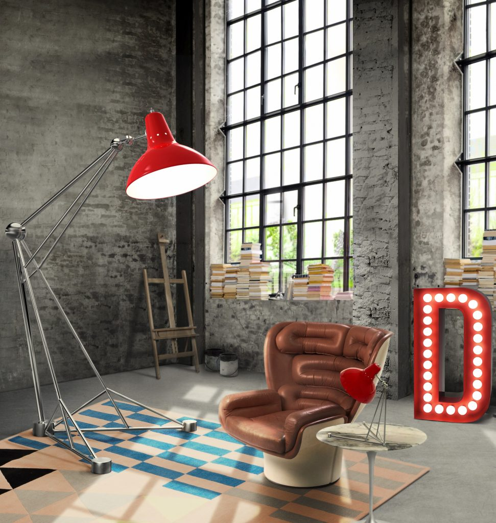 how to handle industrial style with the