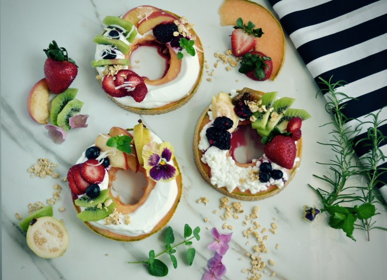 Your beautiful little donuts that you don't have to feel guilty about eating!