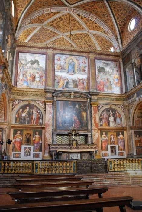 Milan - San Maurizio - entrance hall