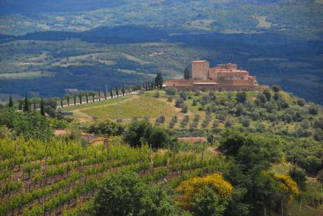 Val d'Orcia one day itinerary - Val d'Orcia scenery