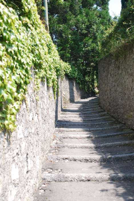 Bellagio_stairway to Pescallo