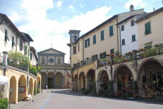 Chianti itinerary - Greve in Chianti - Square