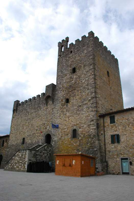 Chianti itinerary - Castellina in chianti - castel