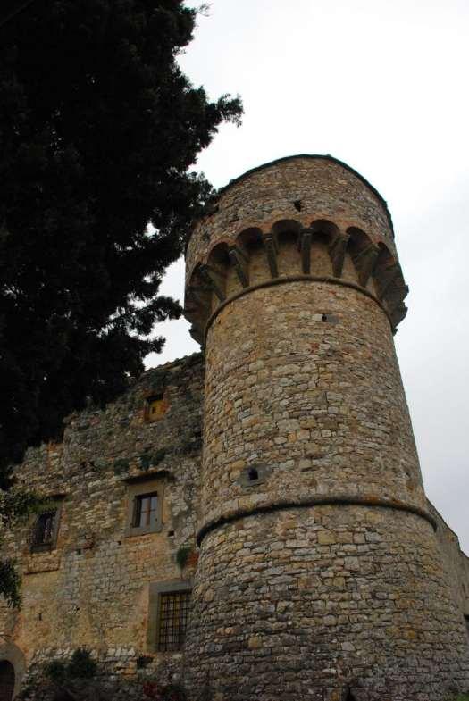 Chianti itinerary - Castello di Meleto