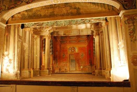 Chianti itinerary - - Castello di Meletto - Teatro