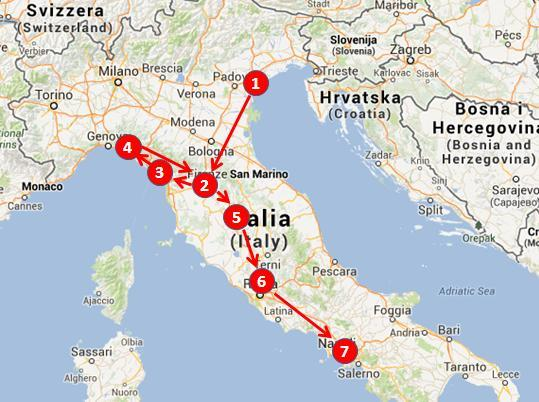 Italy in two weeks: the perfect 14 days Italy travel itinerary on