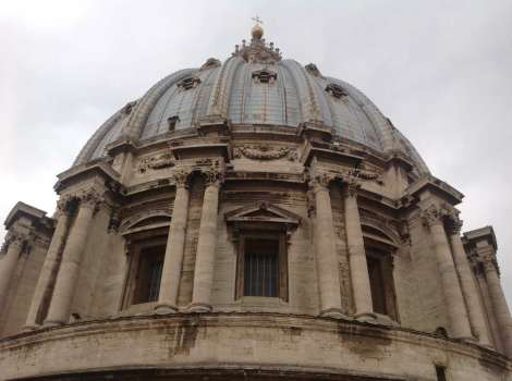 St Peters cupola
